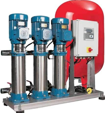 Booster pump 3x4kw