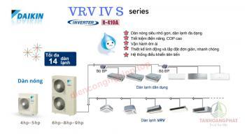 Máy lạnh trung tâm DAIKIN VRV IV S INVERTER