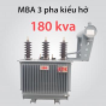 Máy biến áp 180kVA  22(10) ± 2x2,5%/0,4kV
