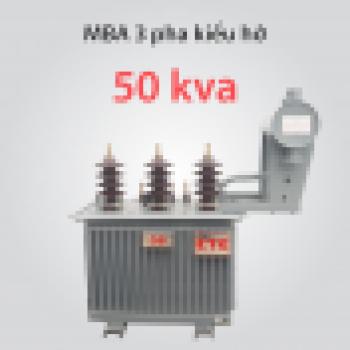 Máy biến áp 50kVA  22 ± 2x2,5%/0,4kV