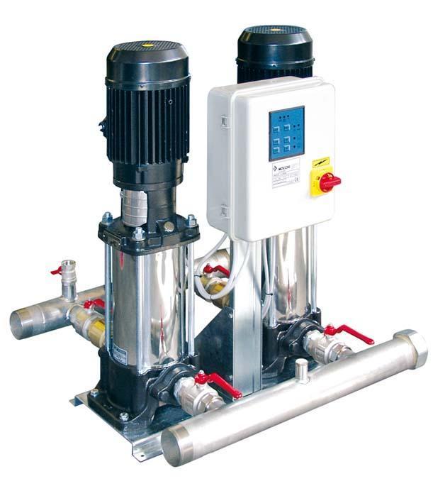Booster pump 2x2.2kw
