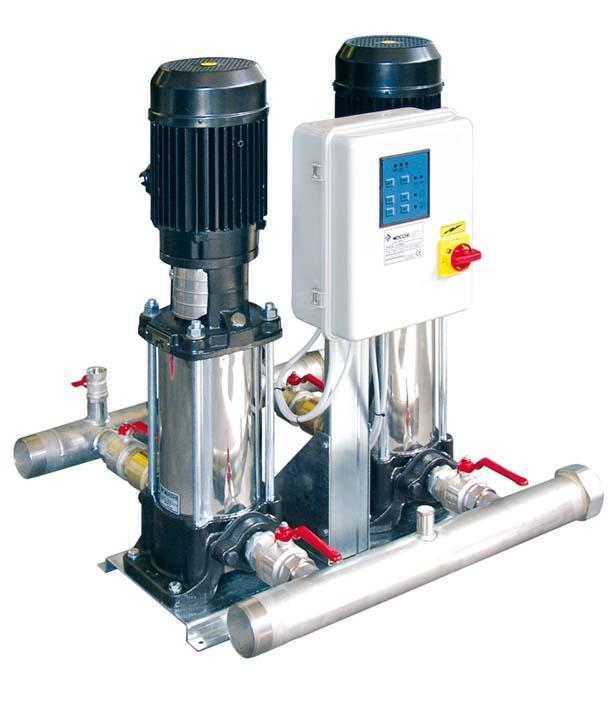 Booster pump 2x3kw