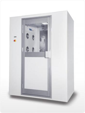 Air shower(2~4) người cửa kéo