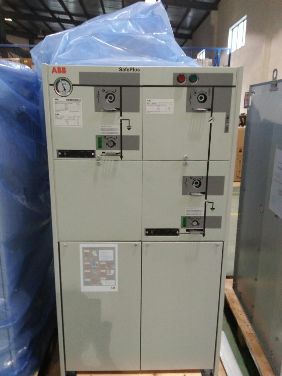 Safeplug compact C-F-F 24kv 630a, 21ka/3s