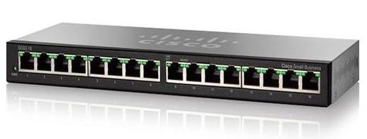 16-port 10/100/1000Mbps Switch CISCO SG95-16