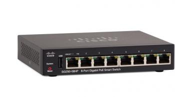 8-Port Gigabit PoE Smart Switch CISCO SG250-08HP-K9-EU
