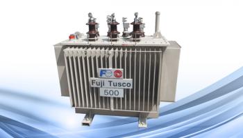 Máy biến áp dầu Fuji 1250kva 35-22/0.4kv